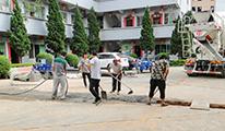 积极推进雨污分流 完善企业基础建设